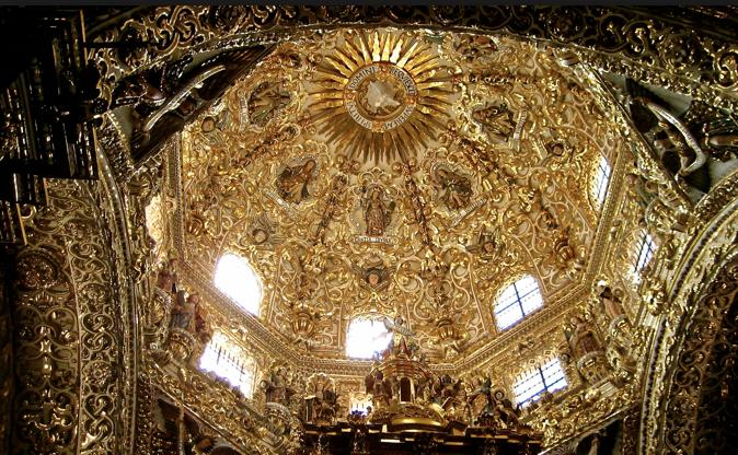 Carta de m xico capilla del rosario la casa de oro - La casa del compas de oro ...