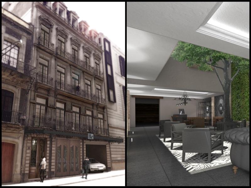 Historia y modernidad en Hotel Histórico Central