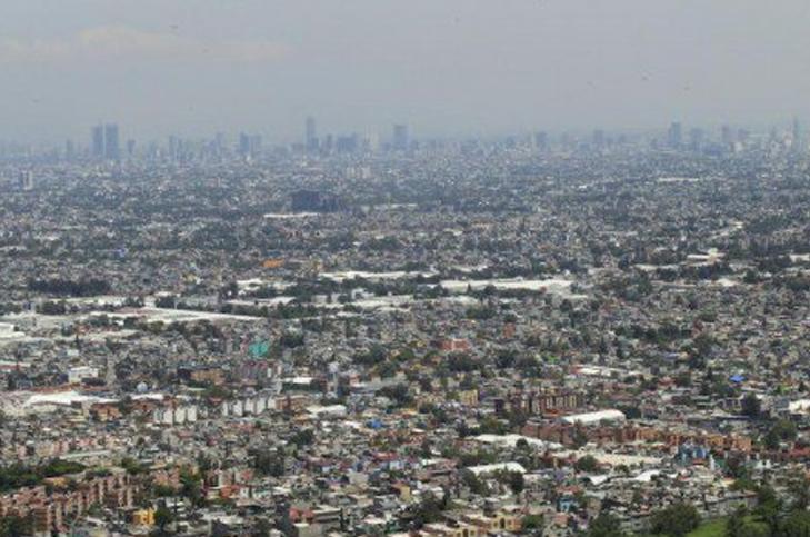 """Amanece valle de México con """"mala"""" calidad del aire"""