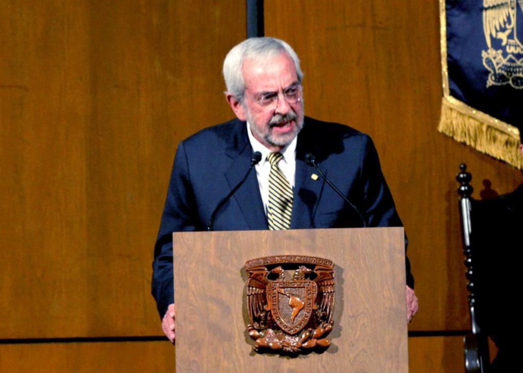 Jóvenes deben tener una visión internacional: rector de la UNAM