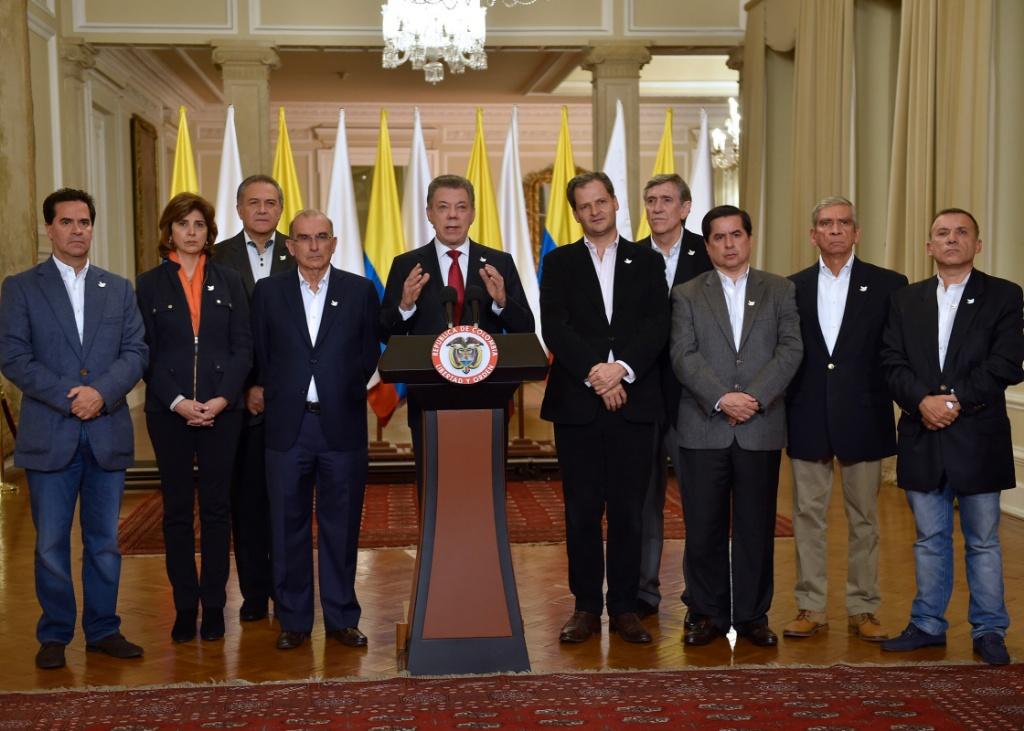 A qué dijeron No los colombianos en el plebiscito