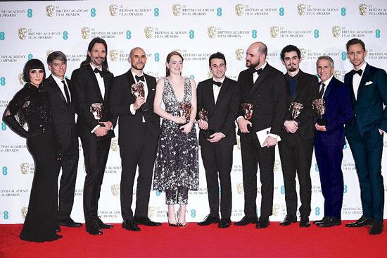 La La Land domina los premios Bafta