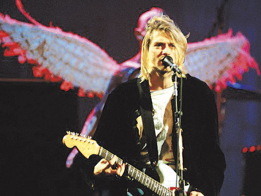 Subastarán guitarra de Kurt Cobain, fundador de Nirvana