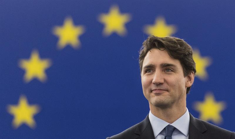 La relación entre la UE y Canadá se centra en valores comunes: Trudeau