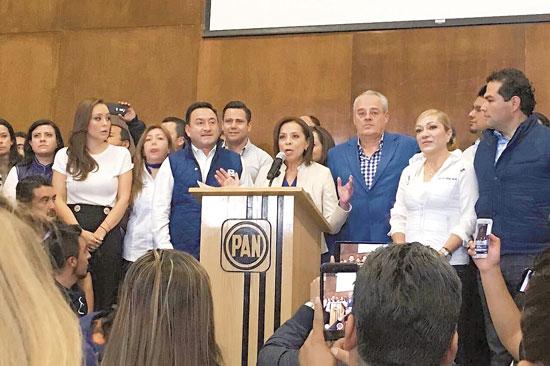 Vázquez Mota, precandidata del PAN a la gubernatura del Edomex