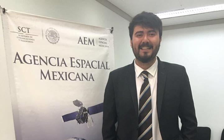 Nombra la ONU a estudiante de la UNAM líder del sector espacial