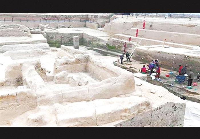 Rescatan 6 ciudades enterradas en un mismo yacimiento en el centro de China