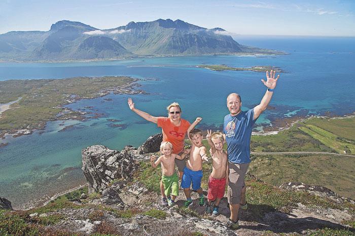 Noruega, coronado como el país más feliz del mundo