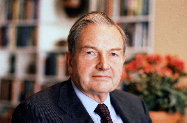 Murió David Rockefeller, a los 101 años de edad