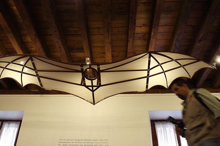 Da Vinci y su imaginación científica y artística llegan al Palacio de Minería