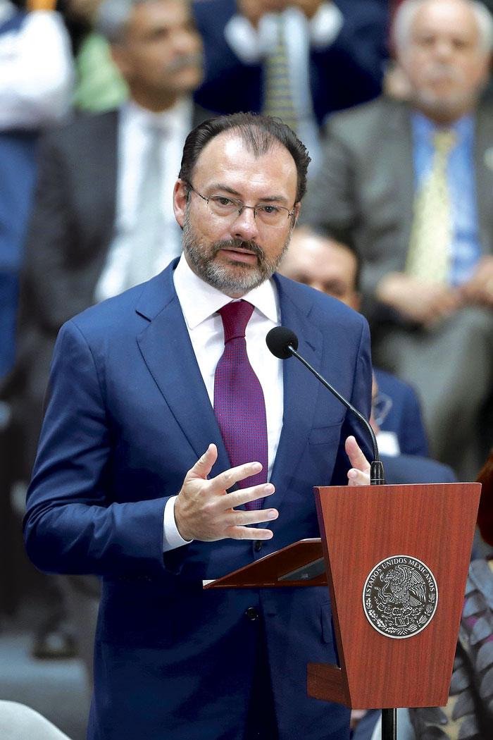 Videgaray ve condiciones de lograr una buena renegociación del TLC