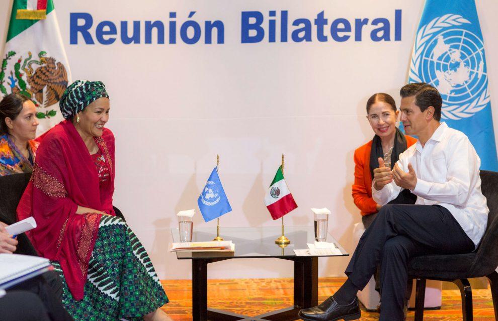 El Caribe cuenta con el apoyo de México en materia de contingencia: Peña Nieto