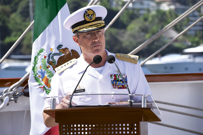Gobernador AMC preside conmemoración del Día de la Marina Nacional