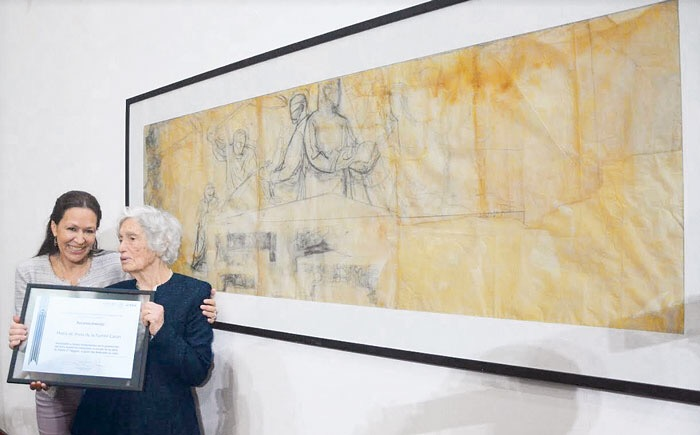 Donan 14 bocetos de O'Higgins al Museo Mural Diego Rivera