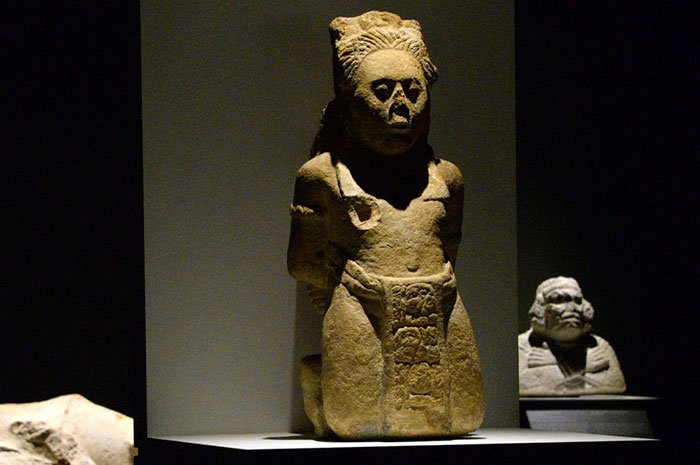 Inaugura exposición sobre bellezas maya en México