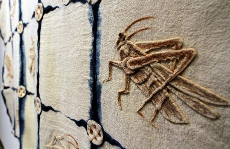 Llega a la Ciudad de México muestra de textiles creados por Francisco Toledo