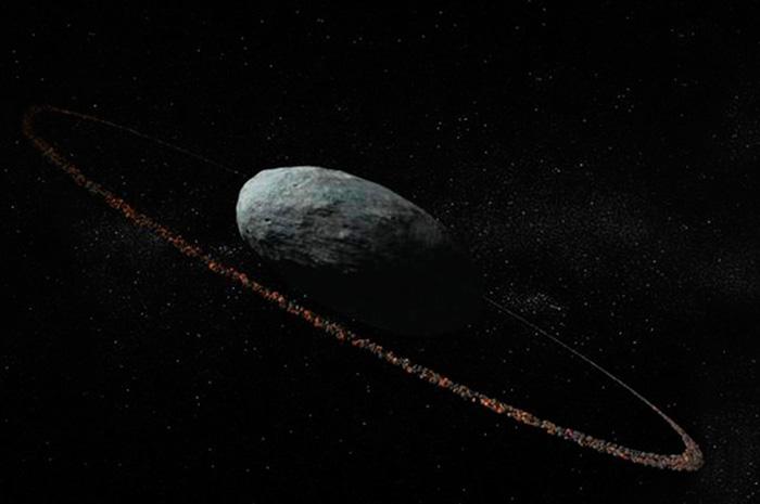 El planeta enano Haumea tiene anillo y dos lunas