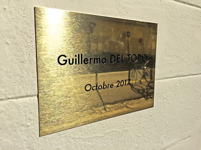 Del Toro, primer mexicano con placa en la Casa de los hermanos Lumière