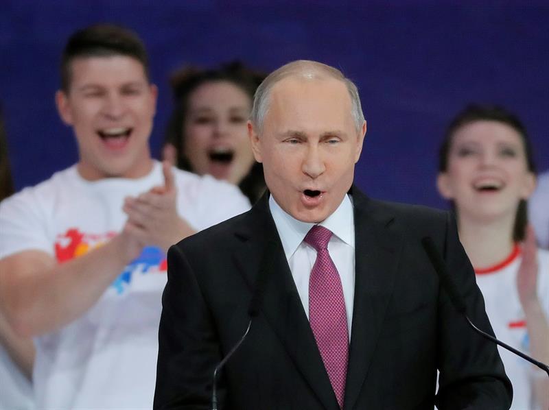 Putin buscará reelección en las presidenciales de 2018