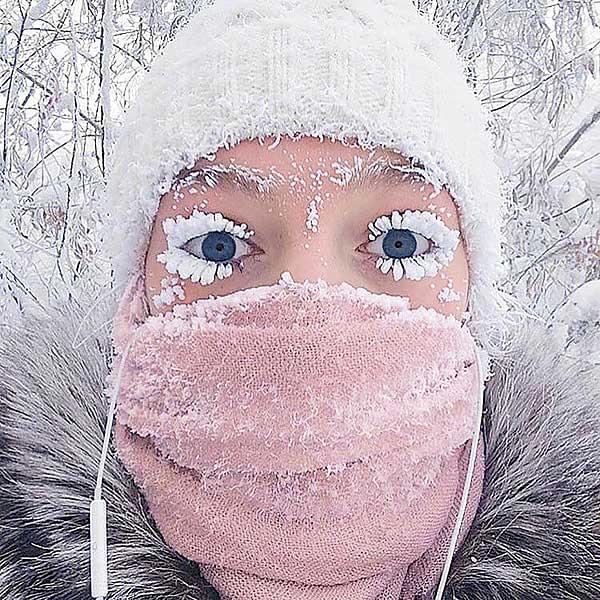 Bate récord la ciudad más fría del mundo: -62ºC
