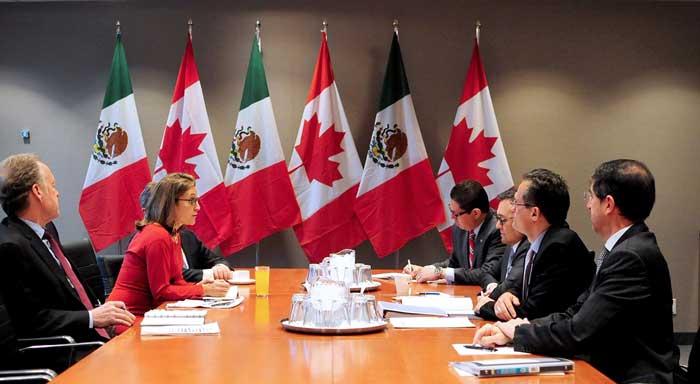 Canadá admite que las disputas comerciales dificultan la negociación de TLCAN