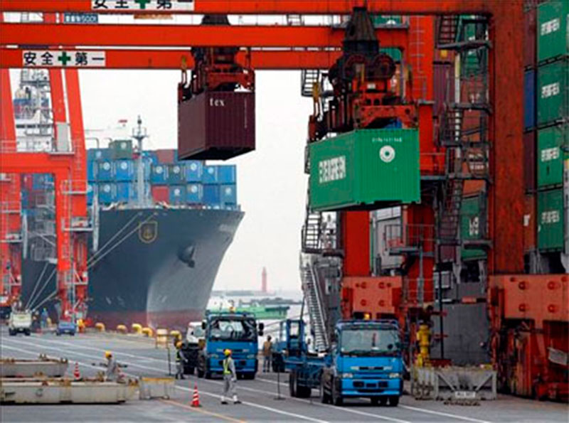 Déficit comercial de EU es el más alto en nueve años