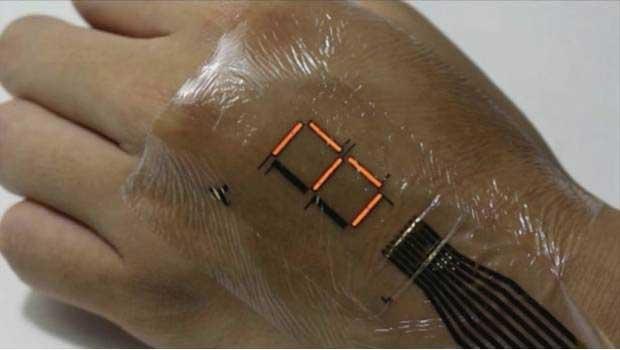 Diseñan tatuaje electrónico que mide el ritmo cardíaco y la temperatura