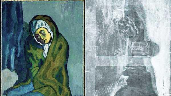 Hallan en cuadro de Picasso una obra del artista Torres-García
