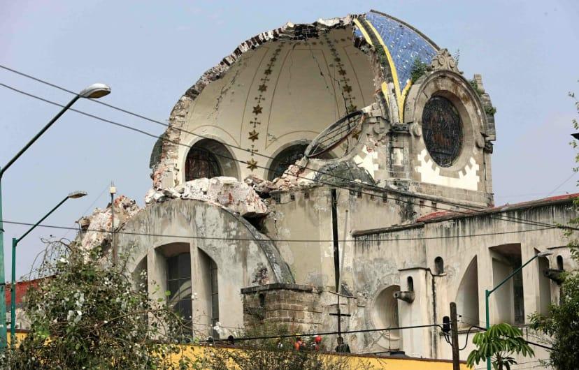 Detecta el INAH daños en 10 monumentos históricos de Oaxaca por sismo 16-F