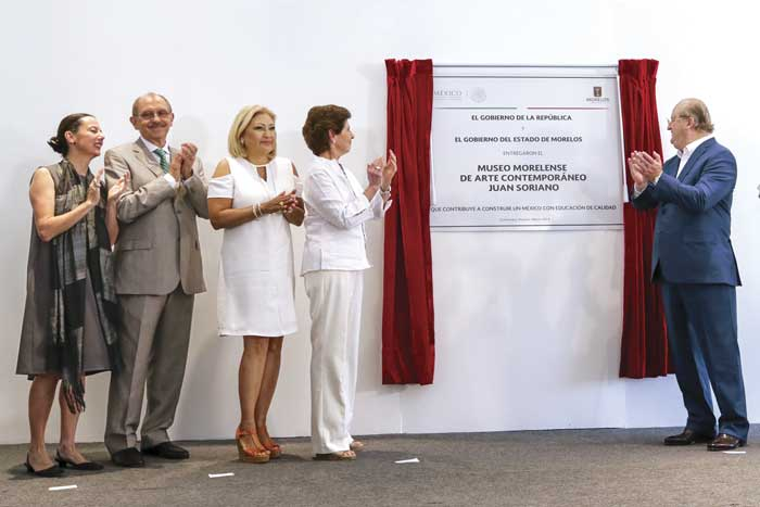 Entregan el Museo Morelense de Arte Contemporáneo Juan Soriano