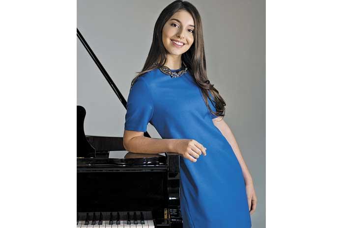 """""""La música está hecha para pasar la felicidad a la gente"""": Daniela Liebman"""