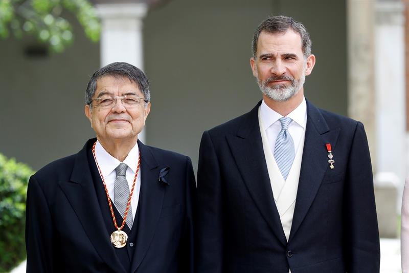 Sergio Ramírez recibe el Premio Cervantes