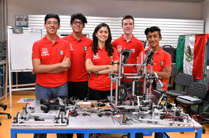 Mexicanos se preparan para jugar de locales en torneo mundial de robótica