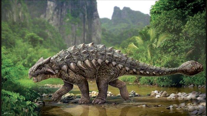 Descubren otra familia de anquilosaurios en Estados Unidos