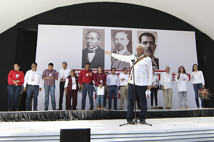 Cumpliremos promesas de campaña: AMLO