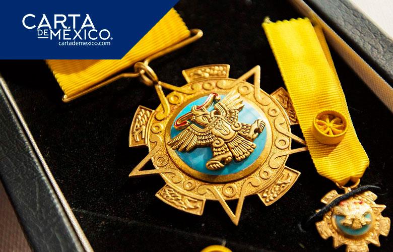 ¿Quiénes han recibido la Condecoración de la Orden Mexicana del Águila Azteca?
