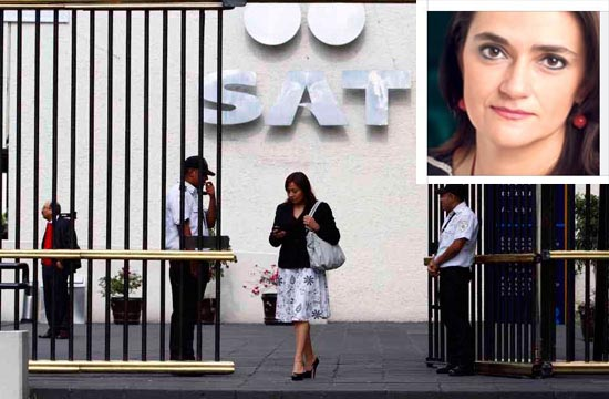 Margarita Ríos-Farjat será la directora del SAT