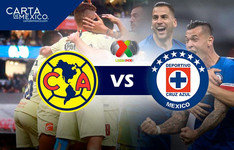 América-Cruz Azul: la rivalidad en 180 minutos