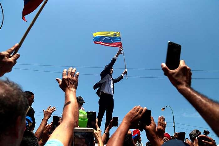 Guaidó aseguró que presión en contra de Maduro